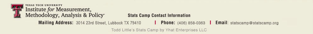 Stats Camp Footer