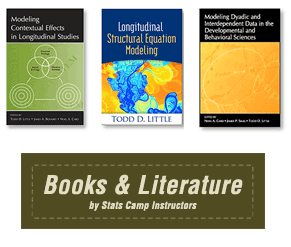 Statistical Books and Literature Published by Stats Camp Instructors