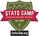 Statistics Training Course Logo