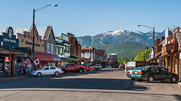 Stats Camp in Whitefish Montana
